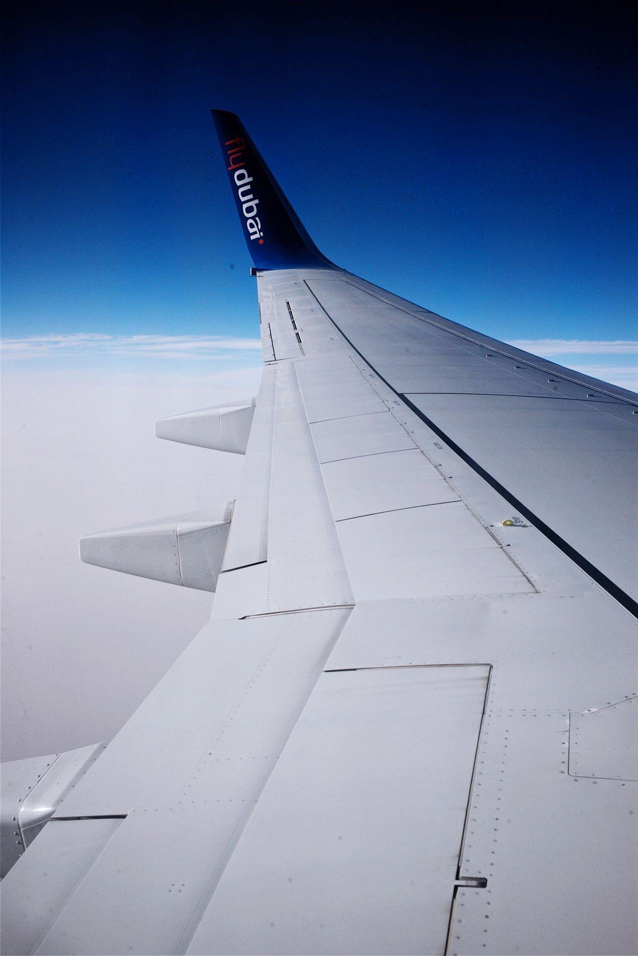 Flydubai Airplane Wing