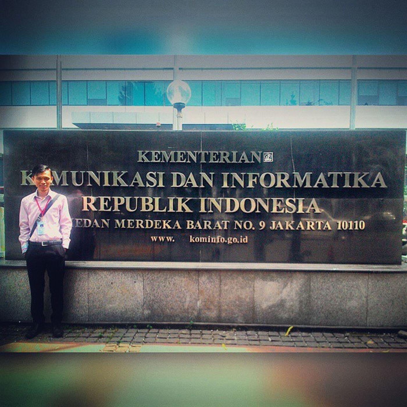 Calon Menteri Komunikasi dan Informatika sudah tiba di gedung Kemkominfo Magang Uns Jakartapremium Kominfo