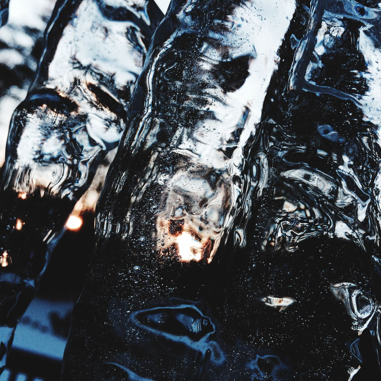 Water Full Frame Close-up No People Outdoors Nature Freshness Backgrounds Cold Temperature Day Icicles Ice Sunrise Winter Twilight