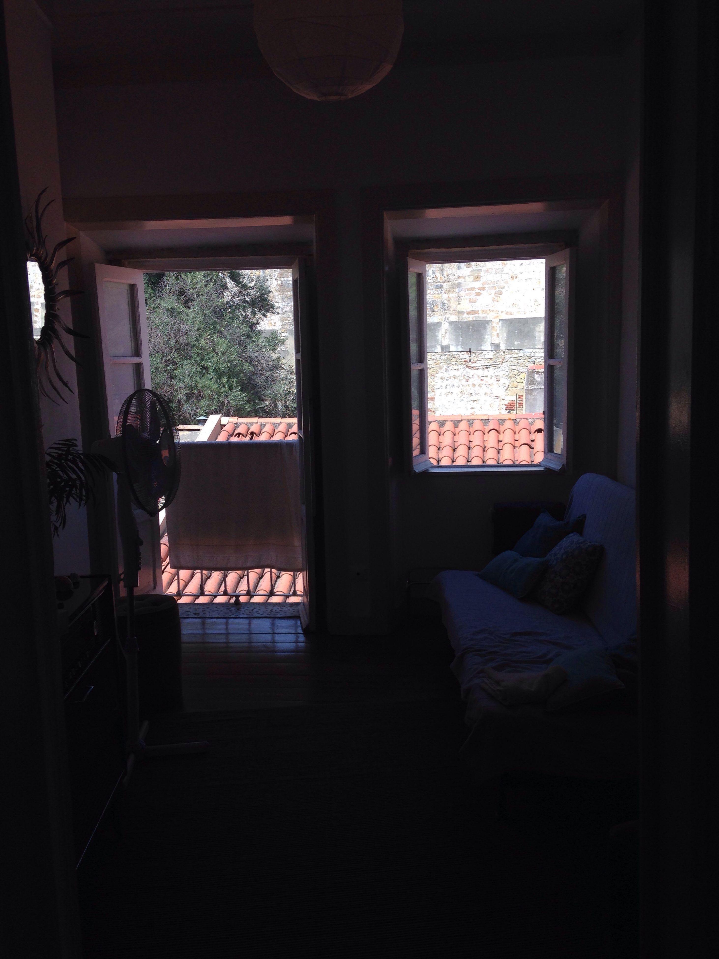 window, indoors, home interior, dark, darkroom, day, damaged, domestic life, obsolete, dirty, darkness