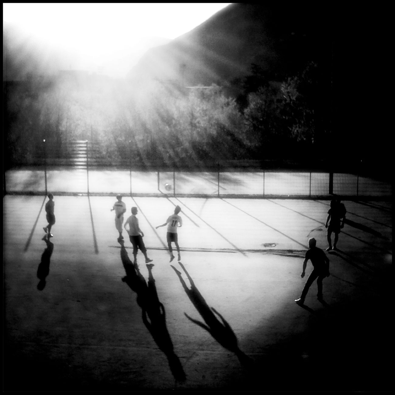 Uploaded in the late 2010:::)))) Blackandwhite We Are Onefootball EyeEm Best Shots Enjoying Life
