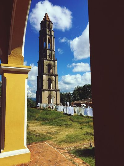 Cuba Sky Cloud - Sky Built Structure Architecture Bell Tower