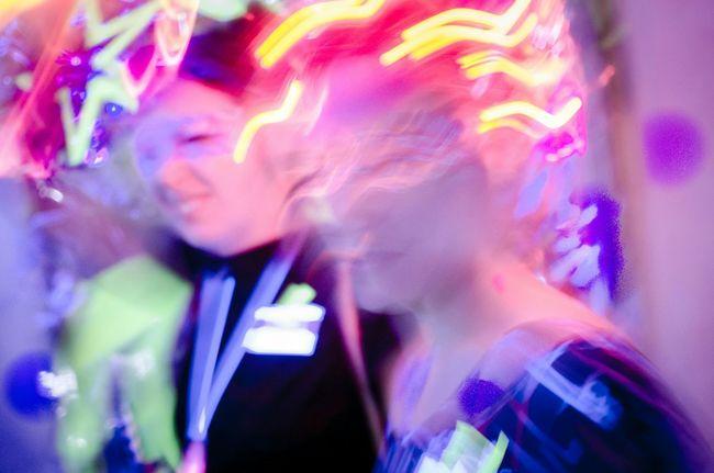 Dunkelbunt blacklight party