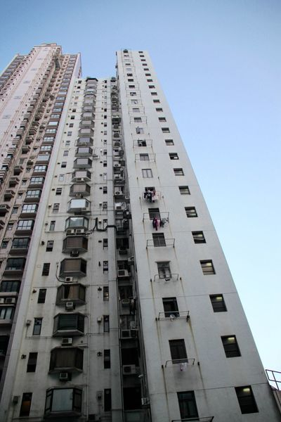 Apartment Architecture Building Exterior Built Structure City Hong Kong Hong Kong Architecture Hong Kong Building Hong Kong City HongKong Low Angle View Modern No People Outdoors Residential Building Residential District Residential Structure Skyscraper