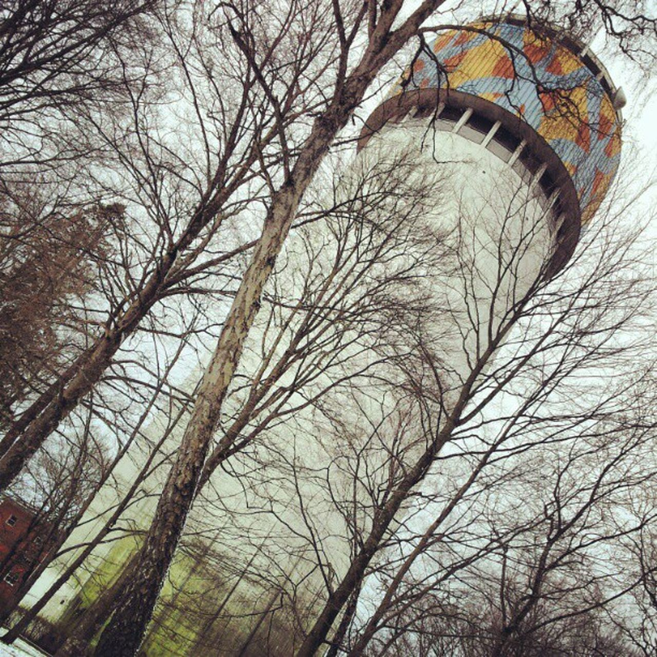 Älmhult's water tower. Architecture Woods Forest Tower Sweden Watertower Bosque Sverige Ig_sweden älmhult