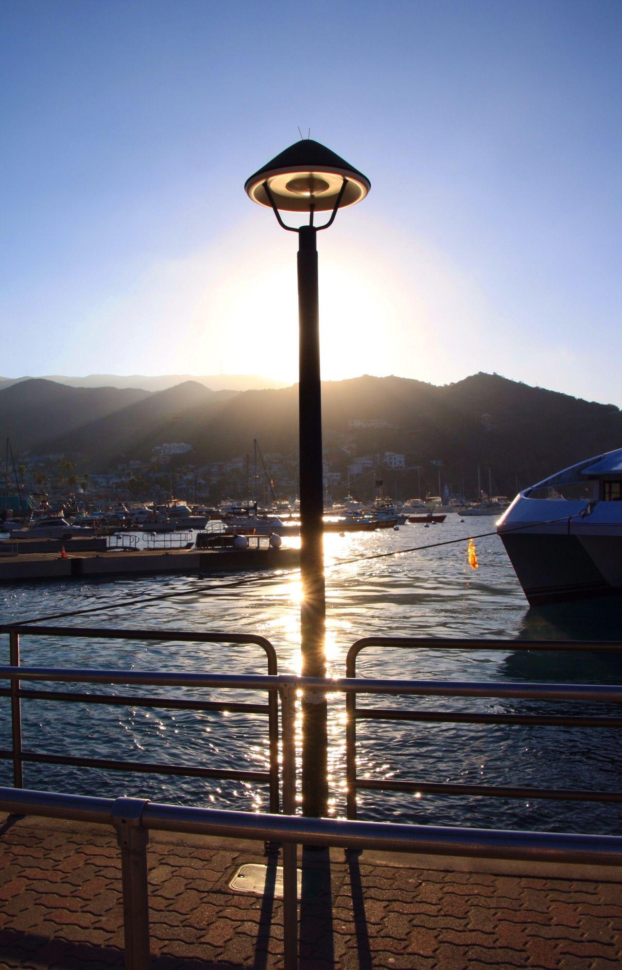 Catalina Island  Avalon Sunset Silhouettes Summer