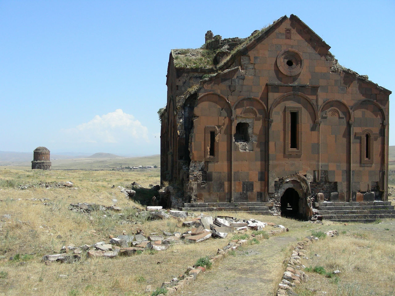 The Cathedral... Aniruins Archeological Site Architecture Armenian BIG Building Exterior Built Structure Cathedral Church Day Heritage History Kars No People Old Ruin Outdoors Sky Thecathedral Tourist Destination Turkey Turkeyphotooftheday