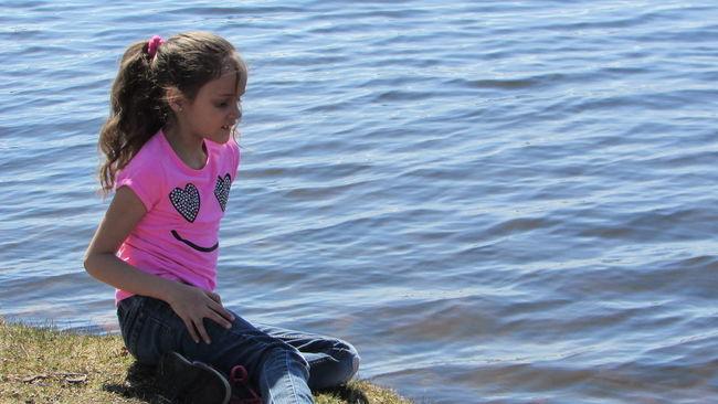 Pretty In Pink JennaStaringDaughterlove Enjoying Life Around Lake Cadillac Spring Day Pure Michigan