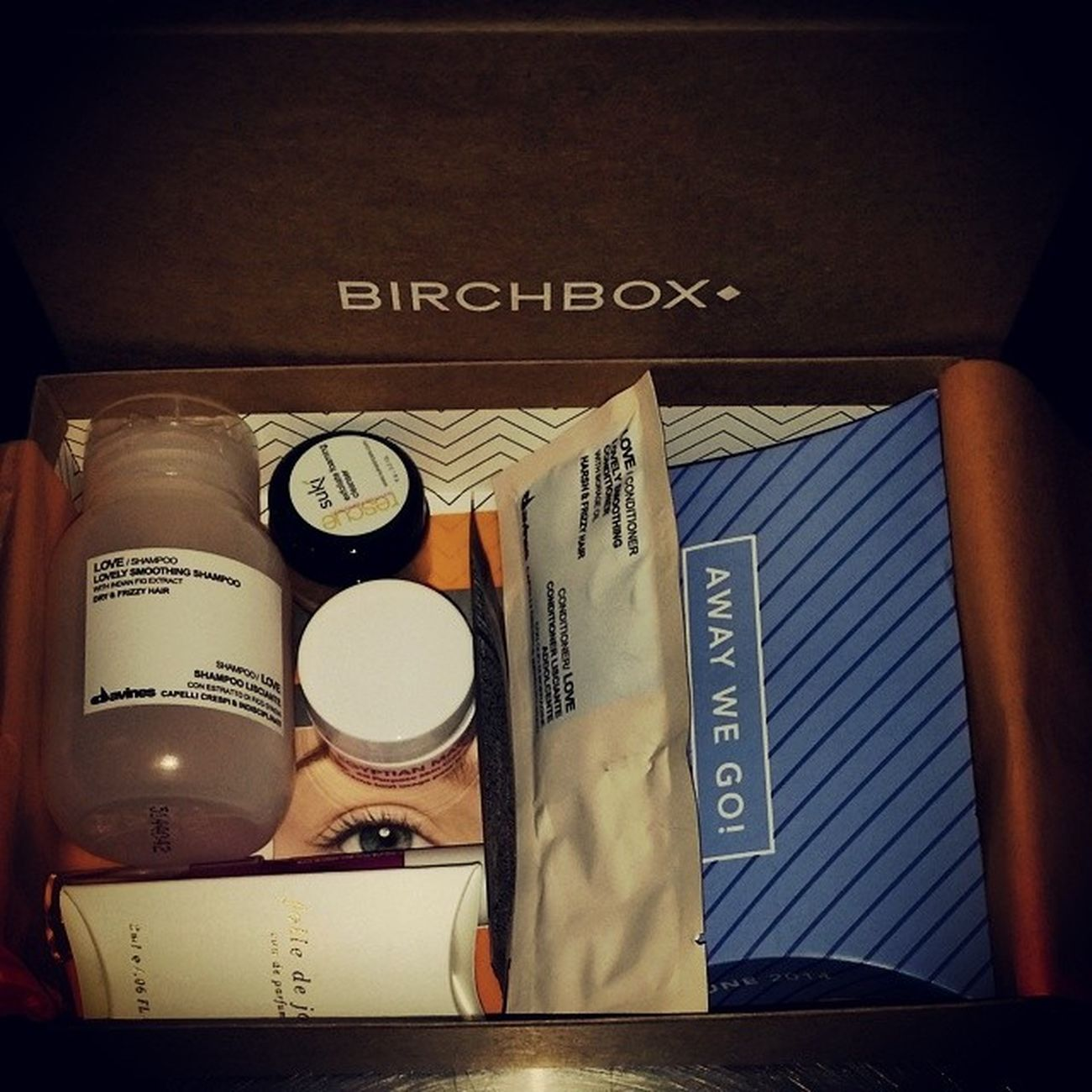 Super excited to get my first Birchbox