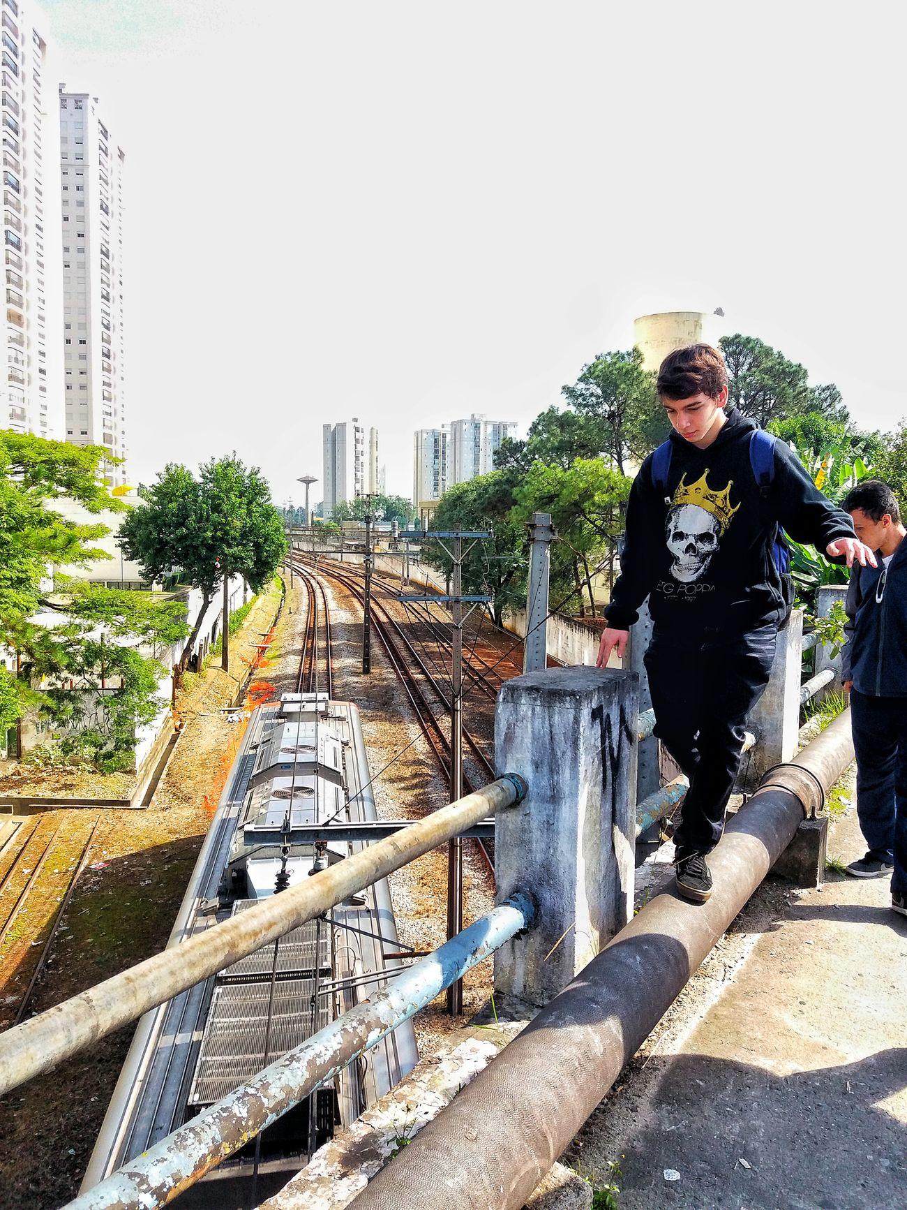 Train Equilibrium Train Line