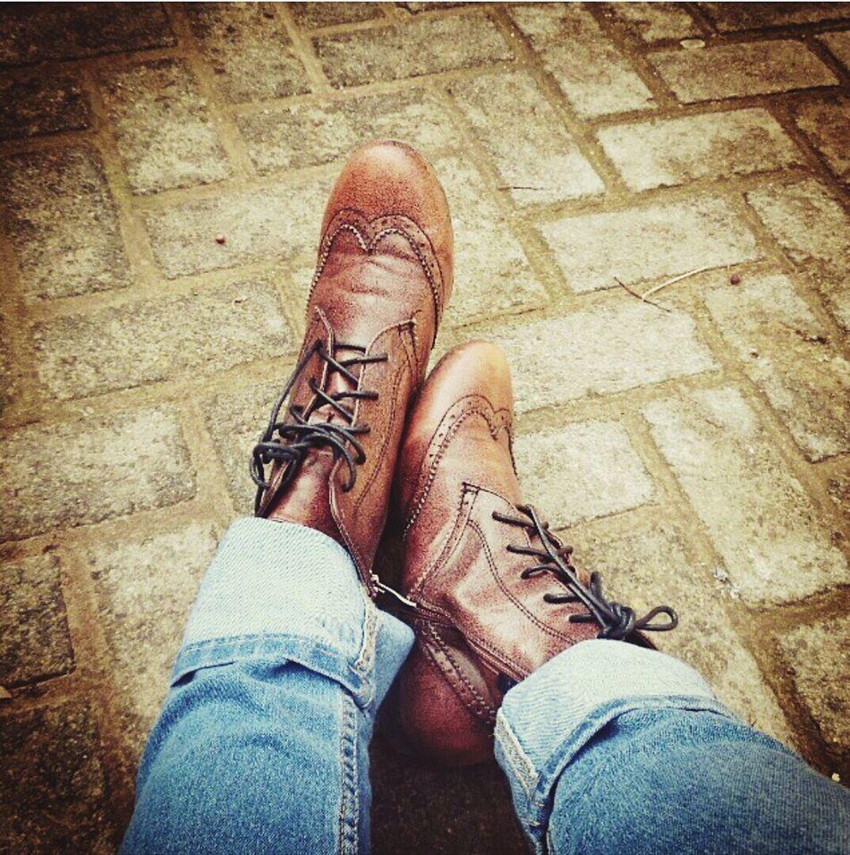 TheFashionist-2015EyeEmAwards Photocredits2zaidaL Fashion&love&beauty Fashion ShoePorn Shoeselfie Boots Brown Brogues