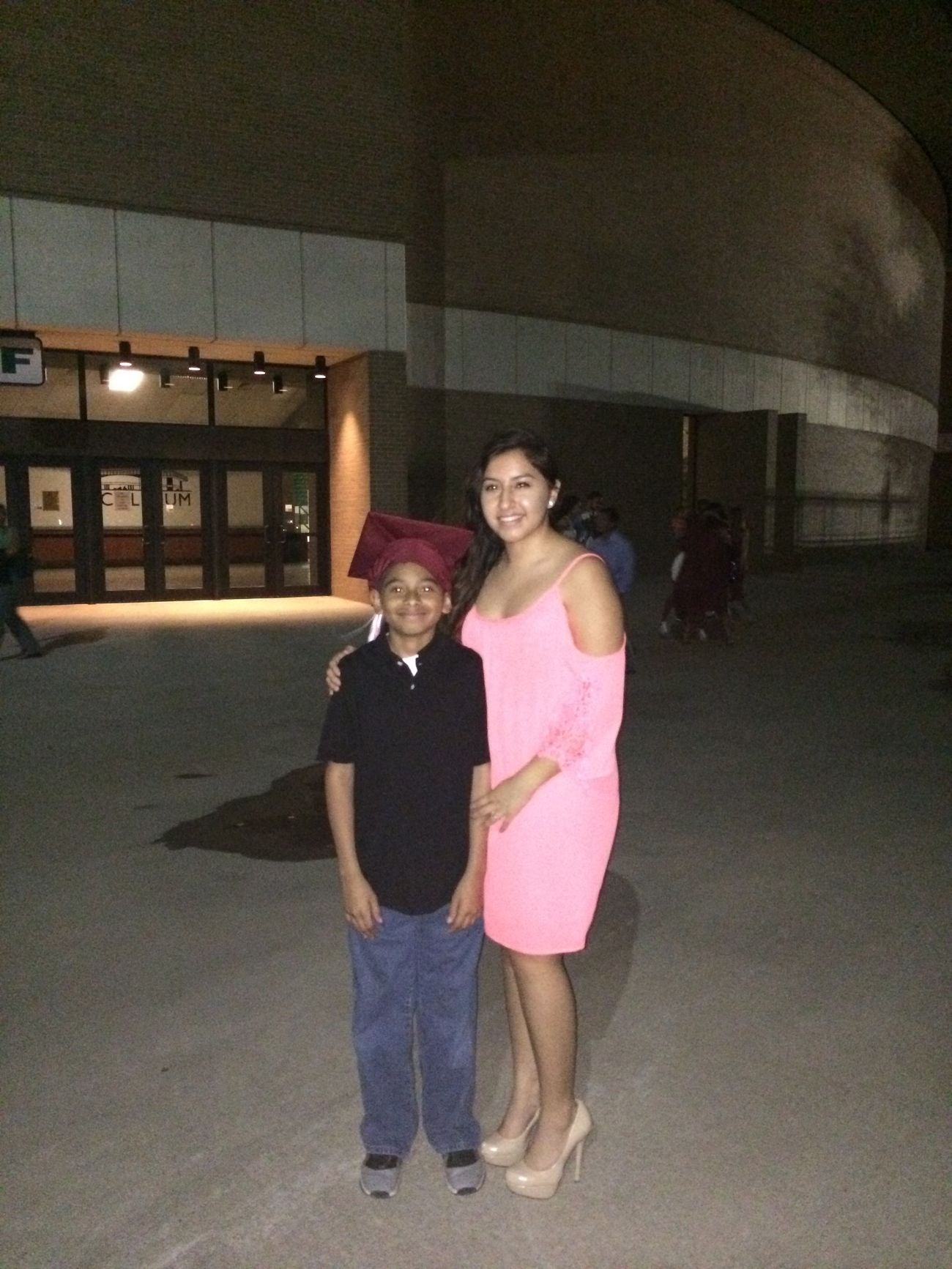 Lil Bro At Our Brothers Graduation Throwback To Monday Hey