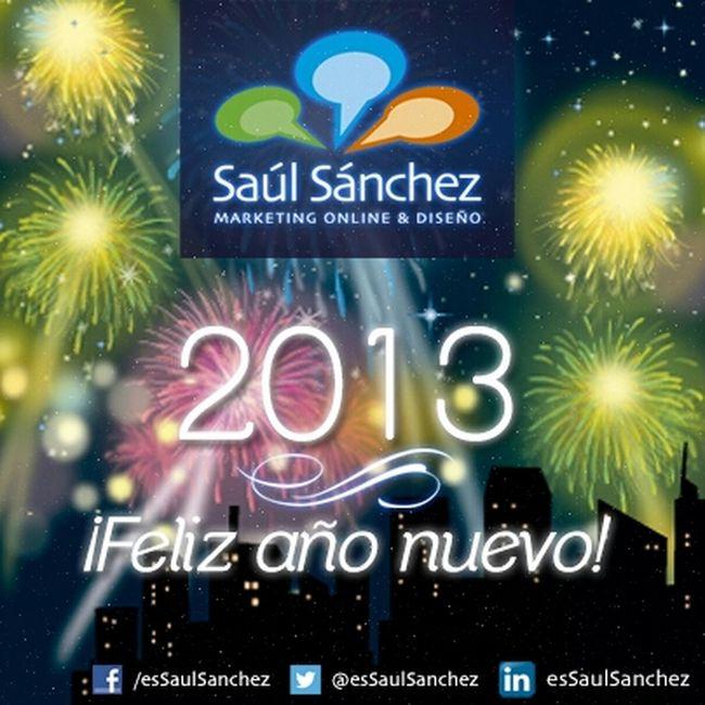 Y llegan las últimas horas de 2012. Os deseo lo mejor a tod@s en este 2013. No soy muy partidario de estas fiestas, los que mejor me conocéis lo sabéis. Ojalá durante todos los meses del año viviésemos esos buenos gestos, esa bondad y ese toque especial