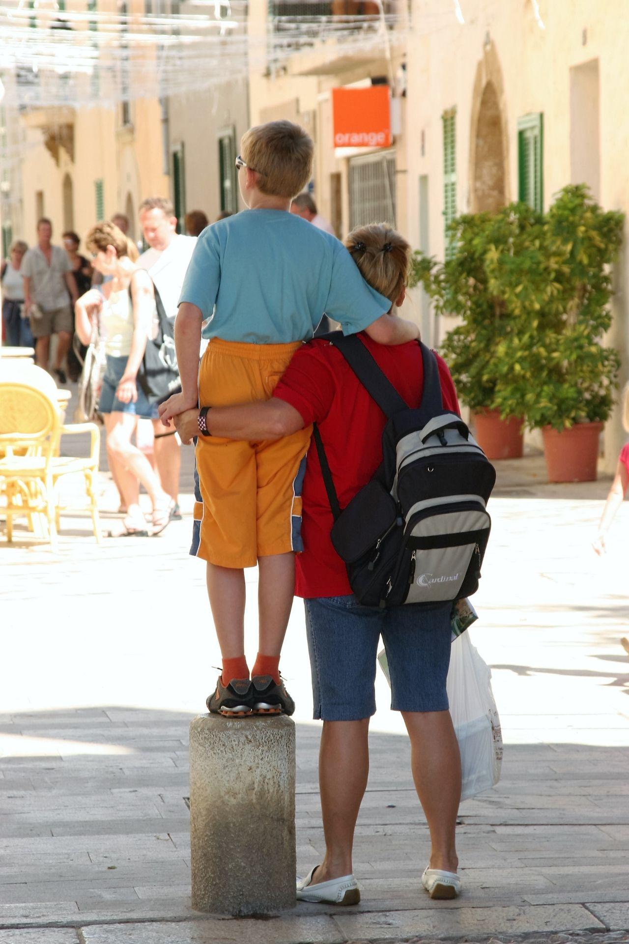 Beautiful stock photos of granny,  Alcúdia,  Backpack,  Bonding,  Boys