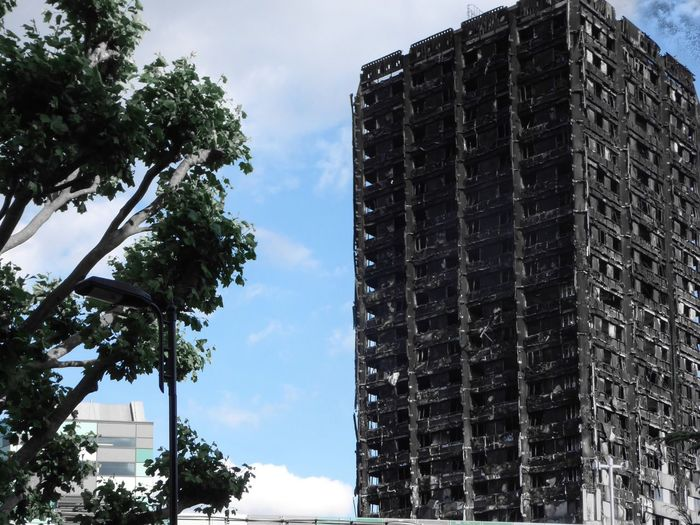 Grenfell Tower Horror in London Aftermath Shocking Consequences of Austerity Austeritykills Hello World What Who Where What We Revolt Against Let's Go. Together. In London London's Buildings Skyscraper but No People When I Weep