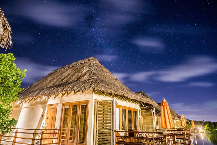 Night Star - Space Blue Sky Travel Destinations Travel Scenics Vacations
