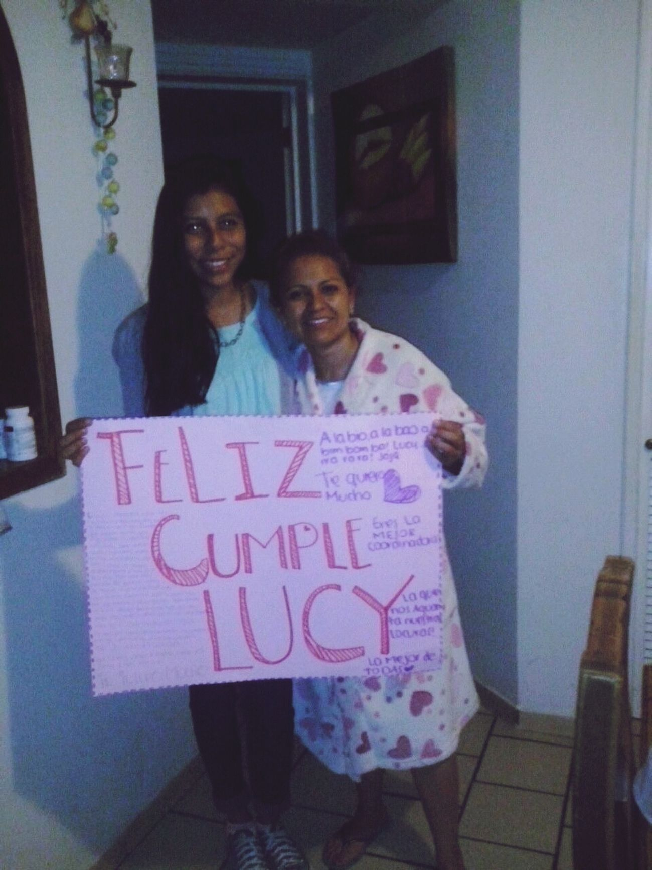 Madrina's Birthday!:) La Quiero Teníamos Sueño <3 beauty
