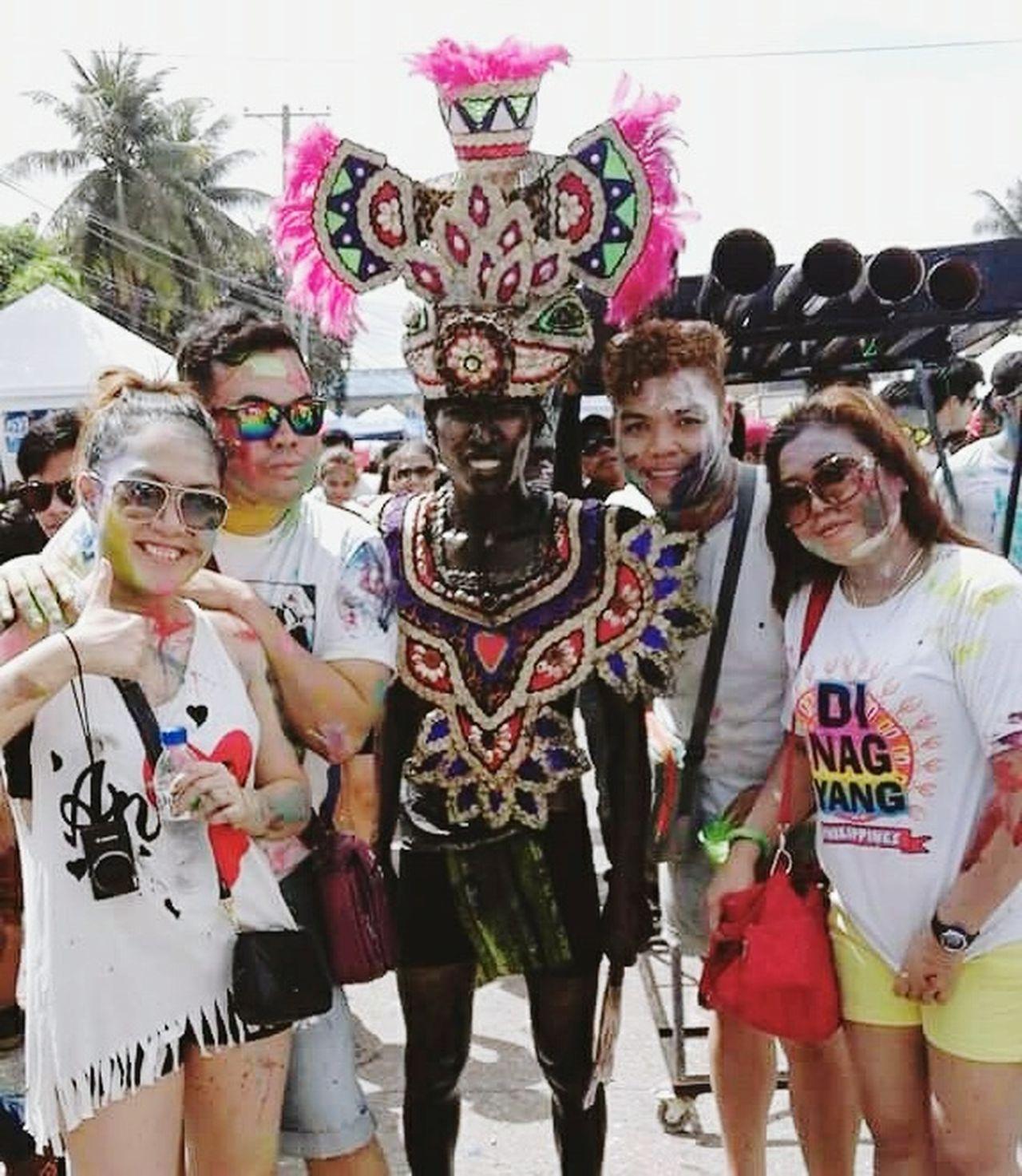 Colors Of Carnival Dinagsafestival Festive Season Paintfestival Dinagsa2016