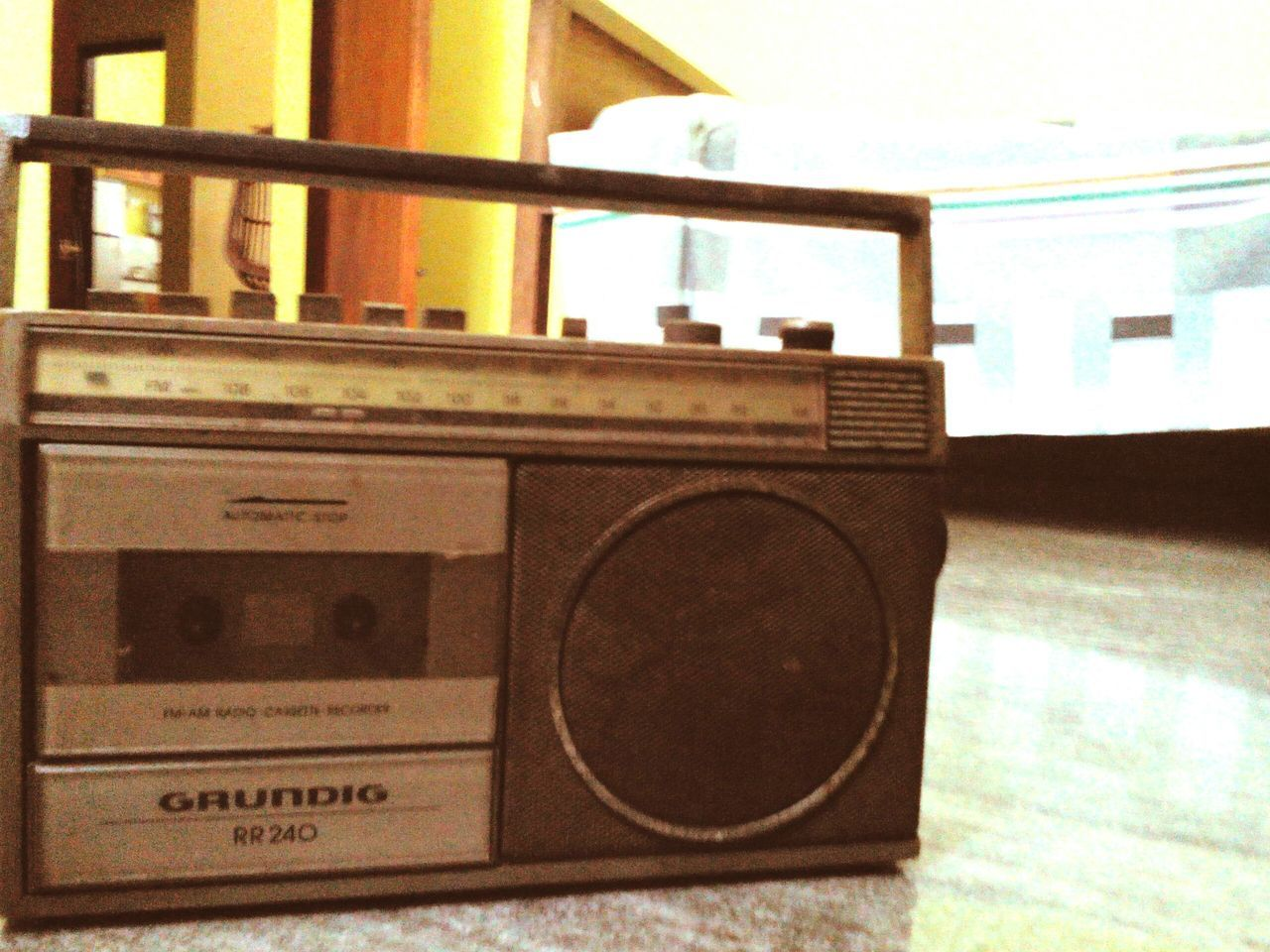 Old Is Gold Vintage Tape Recorder Radio Grundig