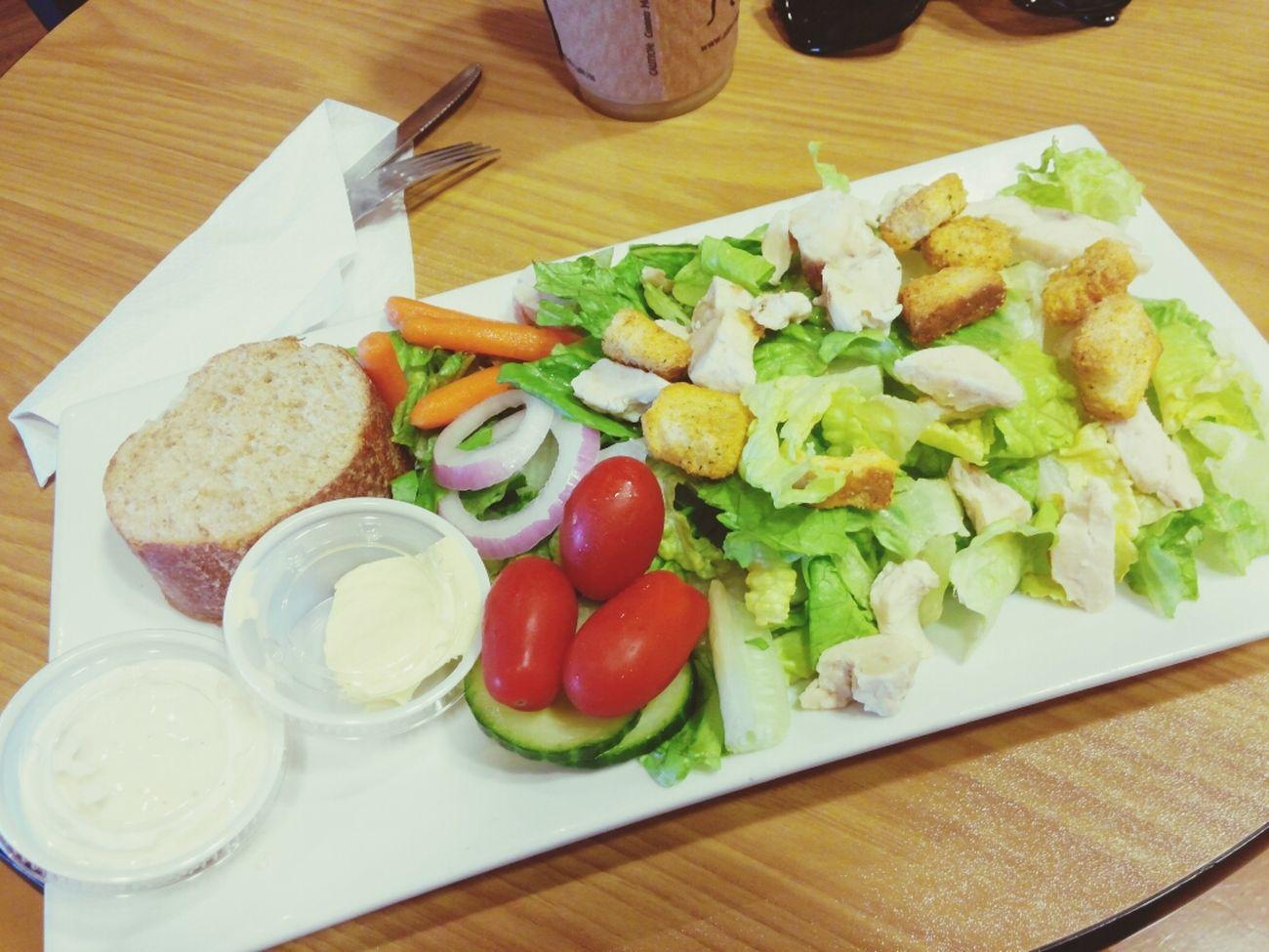 ? Macchiato Chicken Salad Delicious Iced Coffee
