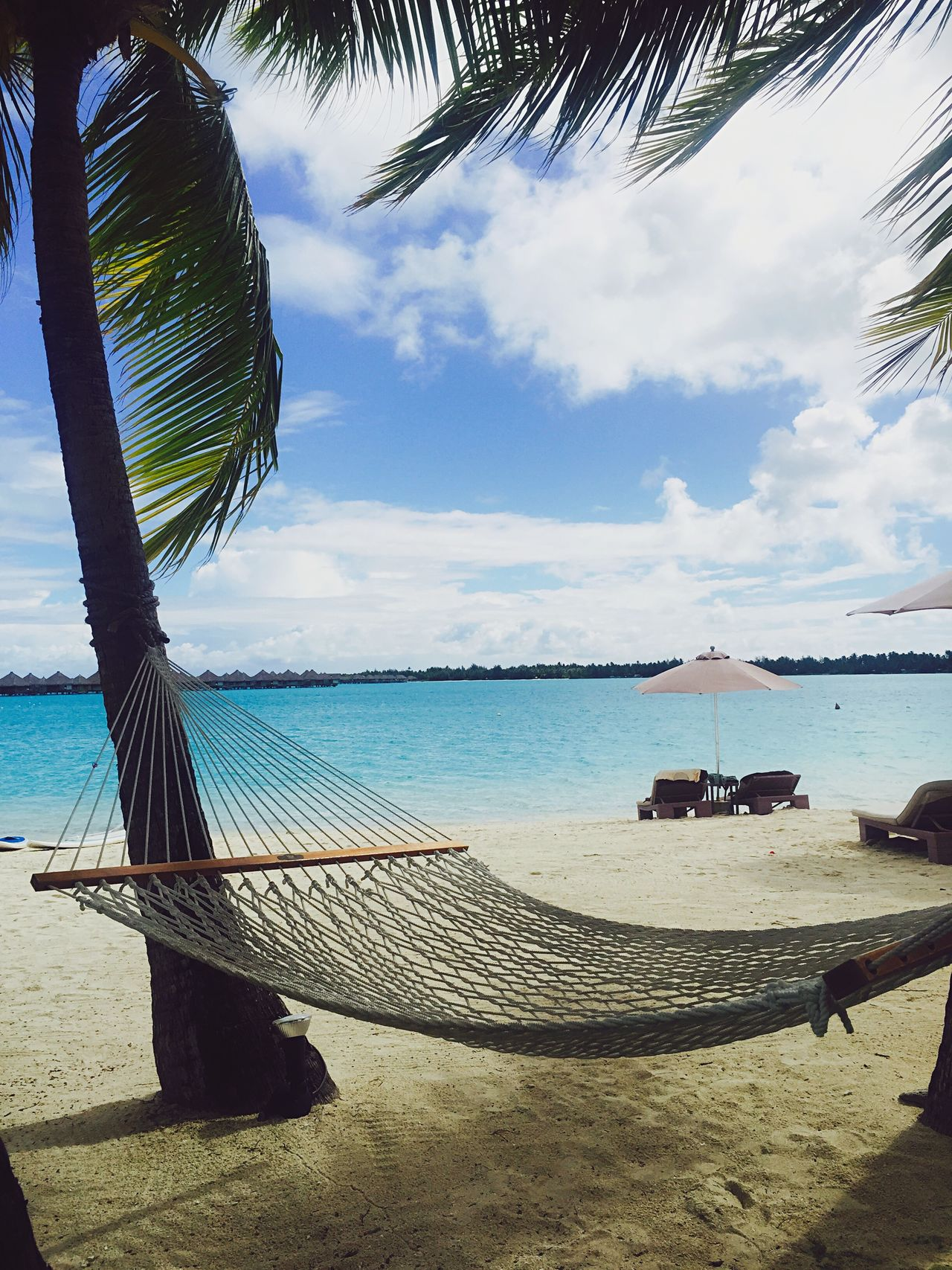 Paradise by the hammock Paradise Beach Hammock Honeymoon Bora Bora