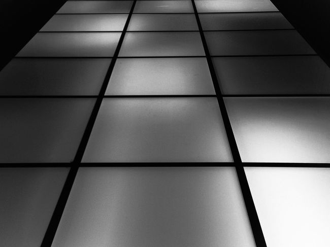 Highway to Hell Light And Shadow Dark Black And White Geometry Minimalism
