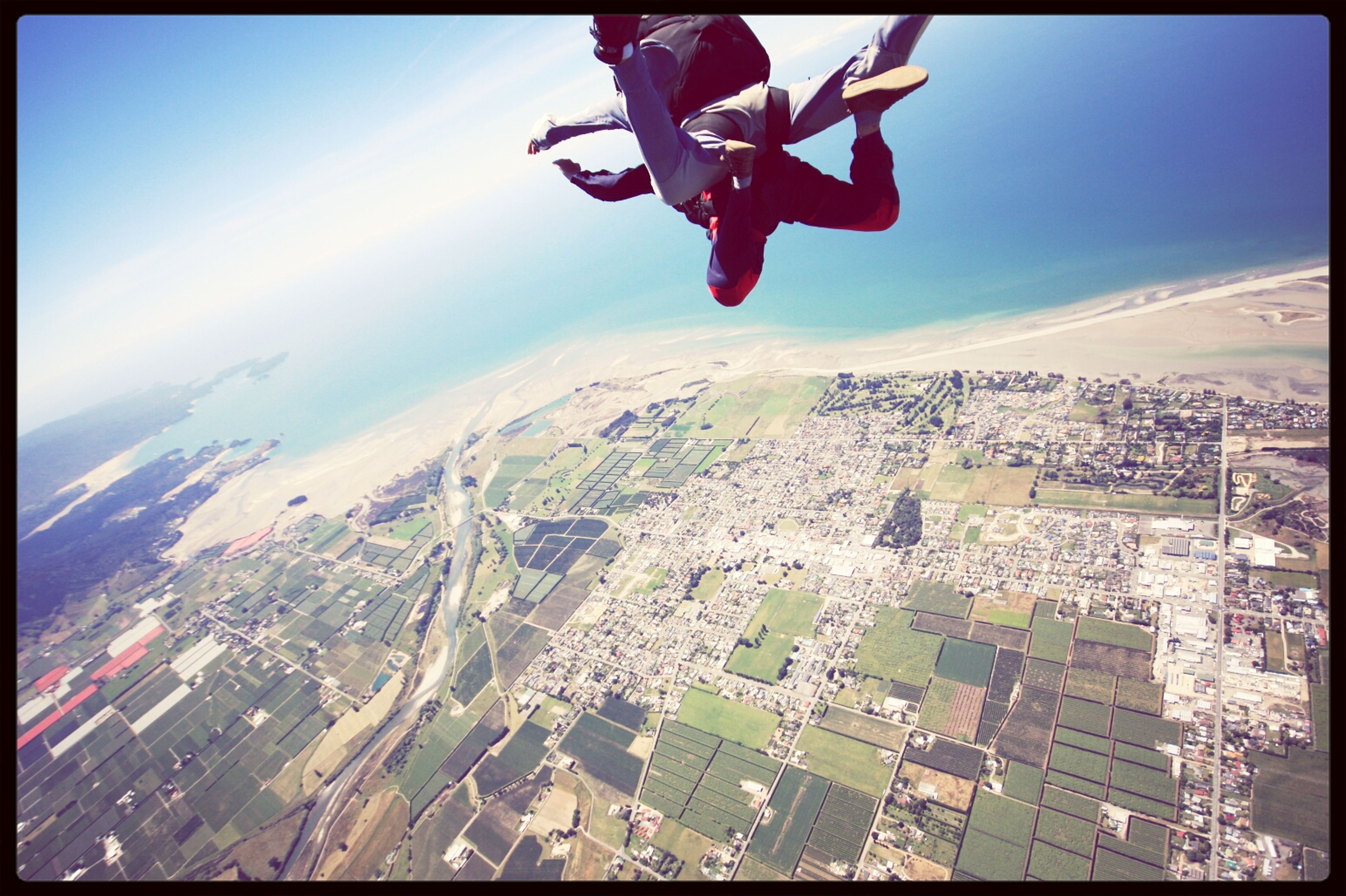 Awesome New Zealand Sky Dive do