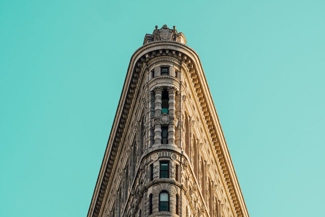 I should really get an apartment up there Architecture Flatiron Building New York Turquoise Wow *-* Market Bestsellers May 2016 Bestsellers