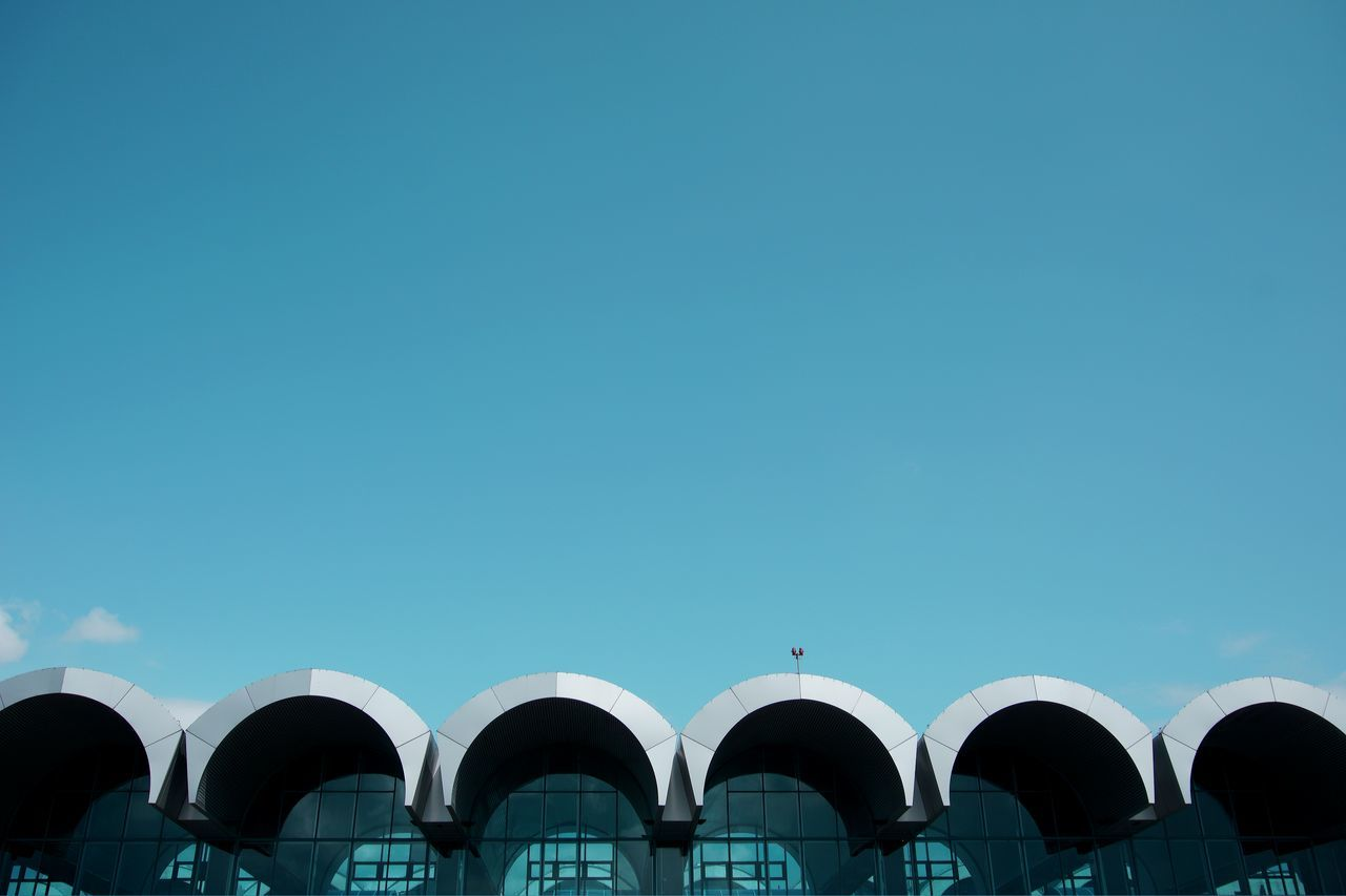 Beautiful stock photos of airport,  Arch,  Architecture,  Built Structure,  Day