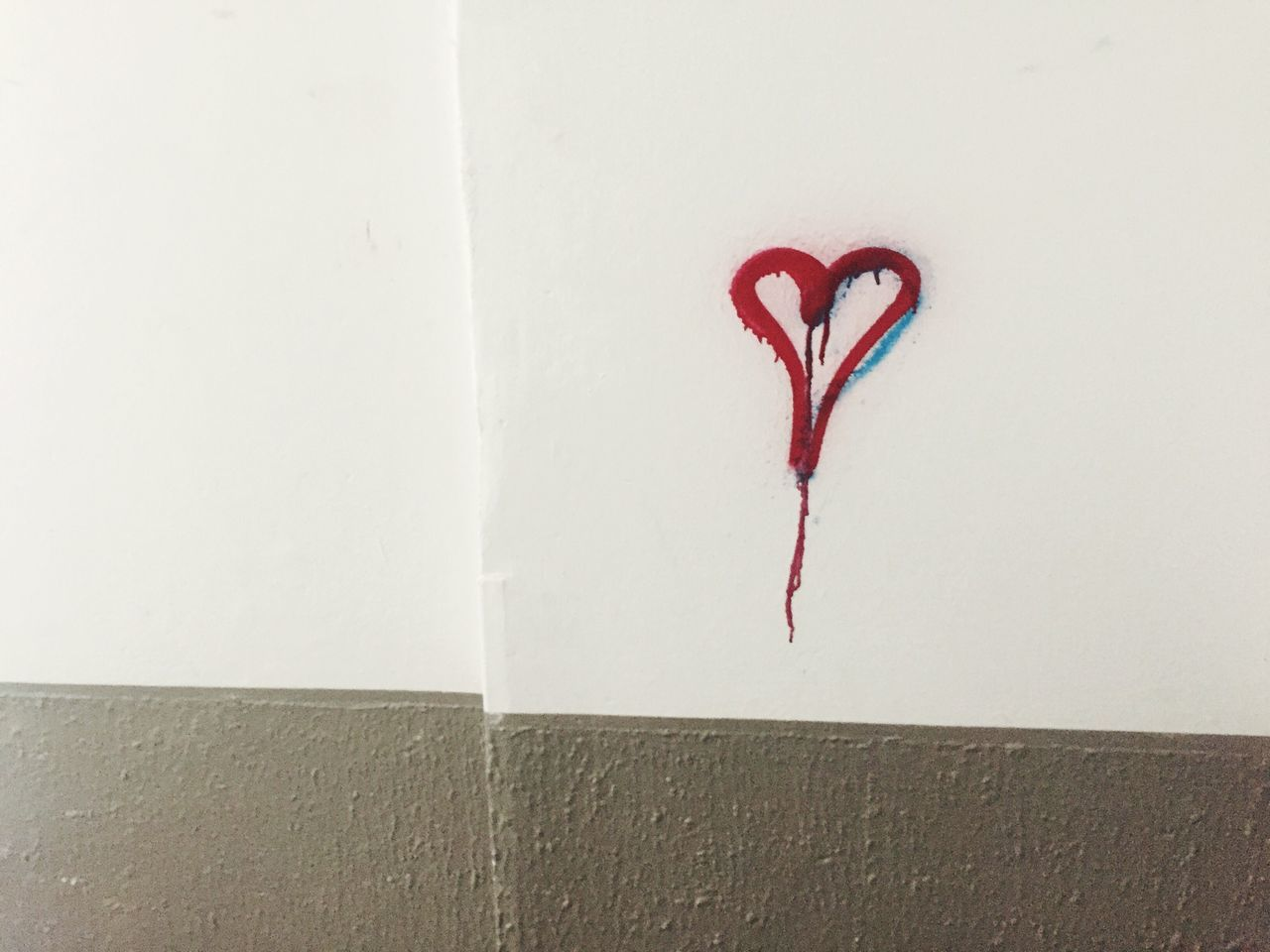 EyeEm Selects Wall - Building Feature No People Day Architecture Graffiti Heart Sign On Wall love lost love