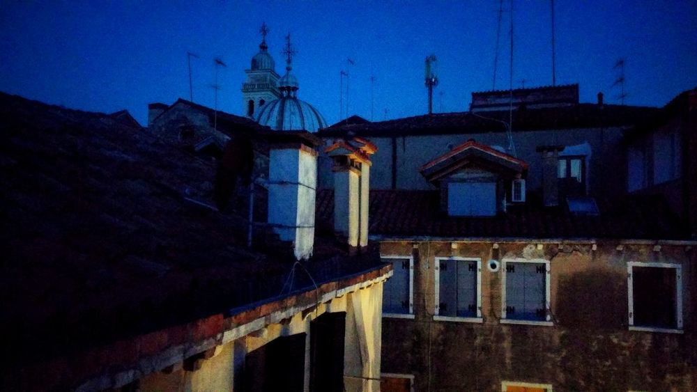 Nightphotography Night View Insomniac Blue Sky Silence Peace And Quiet Venice Italy
