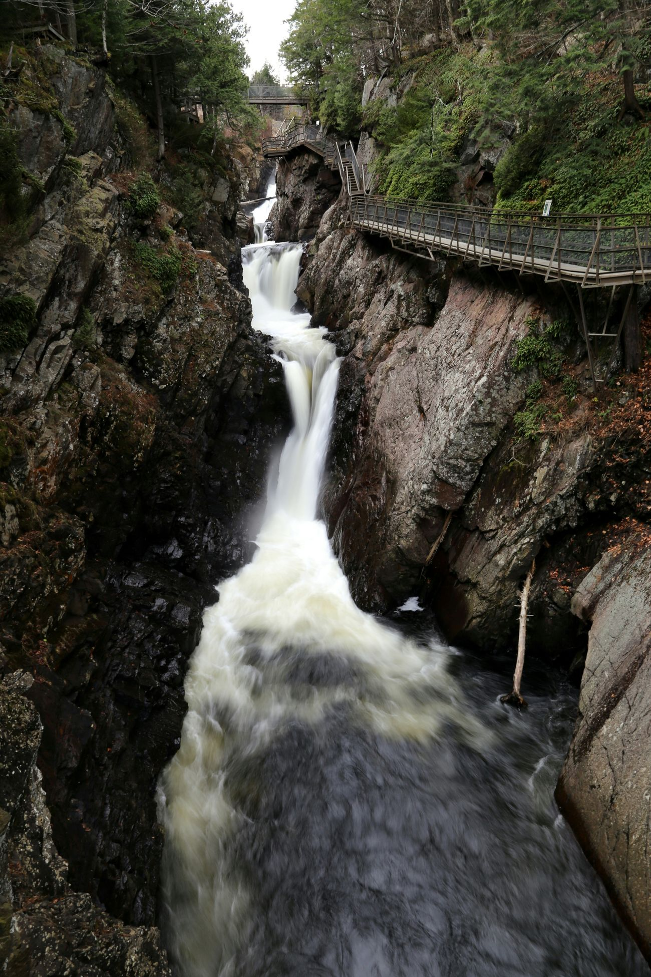 High Falls Gorge, ADK, NY Landscape Landscape_Collection Nature Waterfall