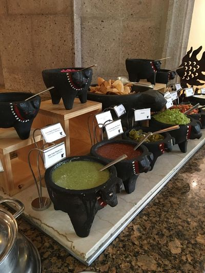 Culture And Tradition Hot Food Mexican Food Molcajete Pig Picante Salsas Picantes Tasty Tipical Food