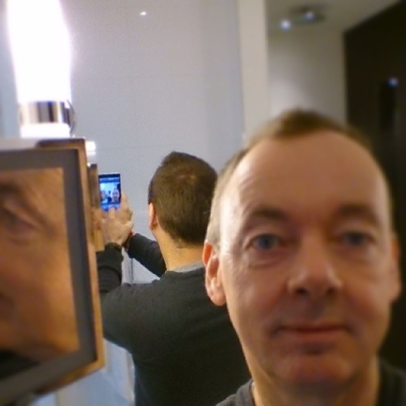 Goedemorgen vanuit Busslo.... (het betere Droste effect) Selfie Thermenbusslo