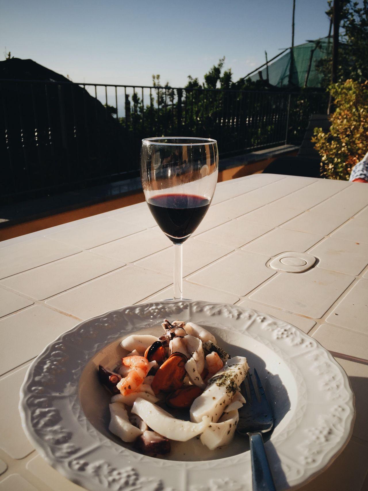 Food And Drink Food Foodporn Travel Italy Amalfi Coast Insalatadipulpo Visual Feast