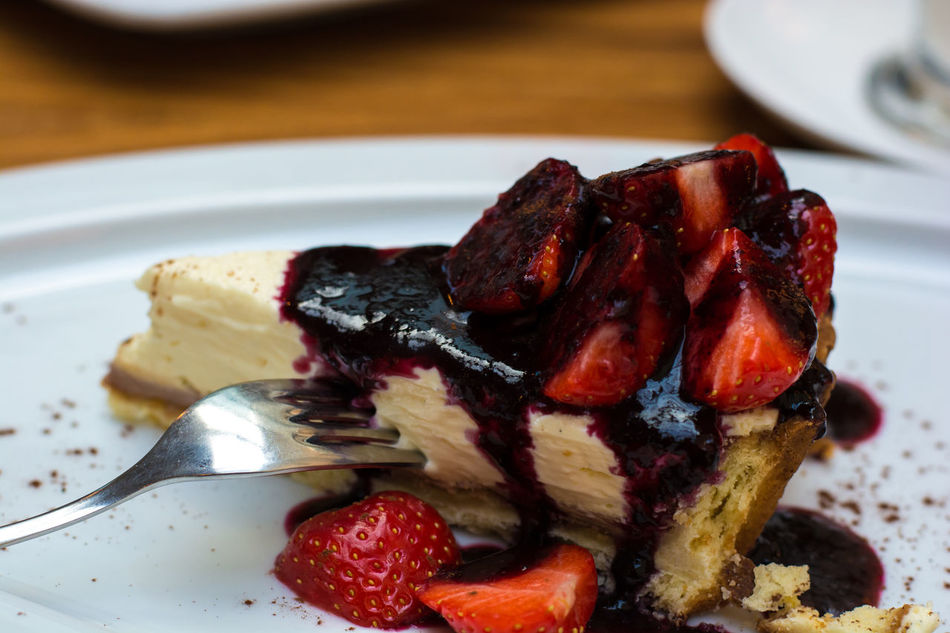 Beautiful stock photos of prague, Cake, Cheesecake, Close-Up, Czech Republic