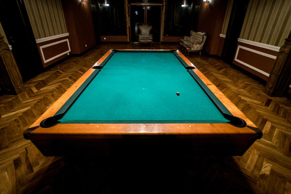 Manor estate, pool / snooker table in old wooden / country style hall / room / building. Wide angle photo Architecture Ball Bar Castle Country Style Empty Game Hall Hotel Leisure Games Manor Mansion Play Pool - Cue Sport Pool Hall Pool Table Retro Room Shady Snooker Snooker And Pool Sport Suspicious Wide Angle Wooden