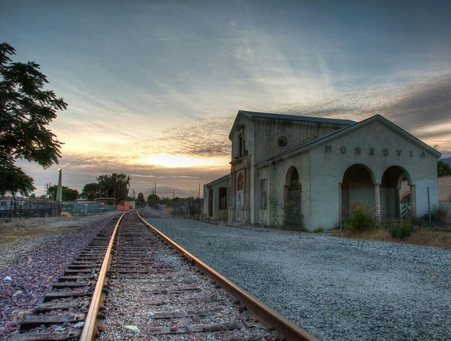 2011: The Monrovia Depot sat abandoned and alone waiting for a new life just before construction on the new metro station and plaza began all around it. Monrovia Metro Train Station Train Tracks Abandoned California