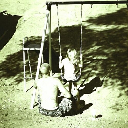 AnjelizPhotography Swingtime Daddydaughtermoment