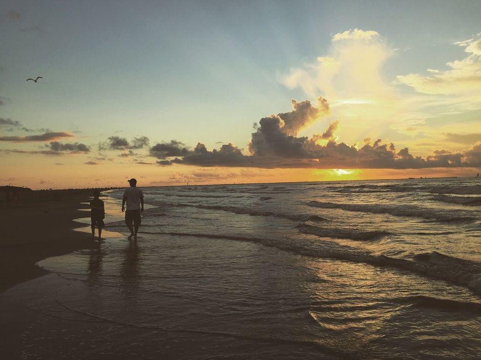 Texas beach Texas Sunrise Texas Beach Seascape Waves Sunrise Heartbeat Moments Texaslife
