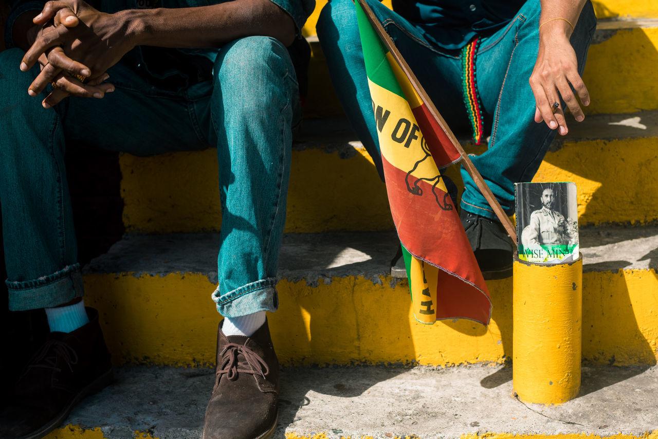 Raggamuffin ting, Rasta on the road Clarks Culture Jamaica Kingston RASTA Rastafari Rastaman Street Fashion Picturing Individuality