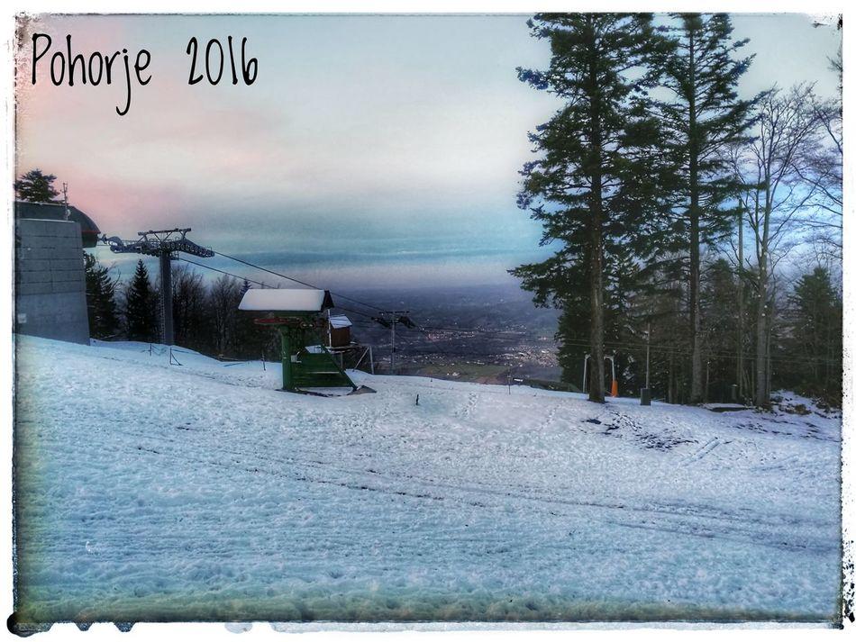 First Eyeem Photo Iloveslovenia Skiing Snow Snapseed Firstsnow