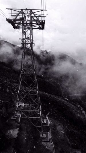 The world tallest cable railway is on Merida Venezuela with 4765 meters from the level of the ocean