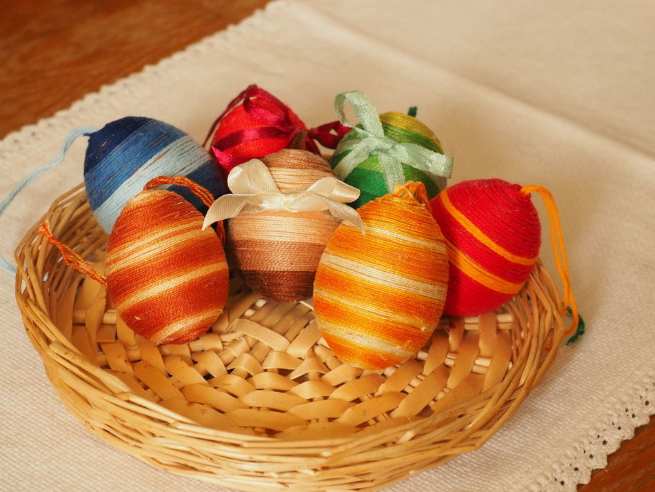 At Home At Home Sweet Home Bunny Nest Colourful Colours Easter Easter Eggs Easter Ready Easter Sunday Easteregg Eastersunday Hímestojások