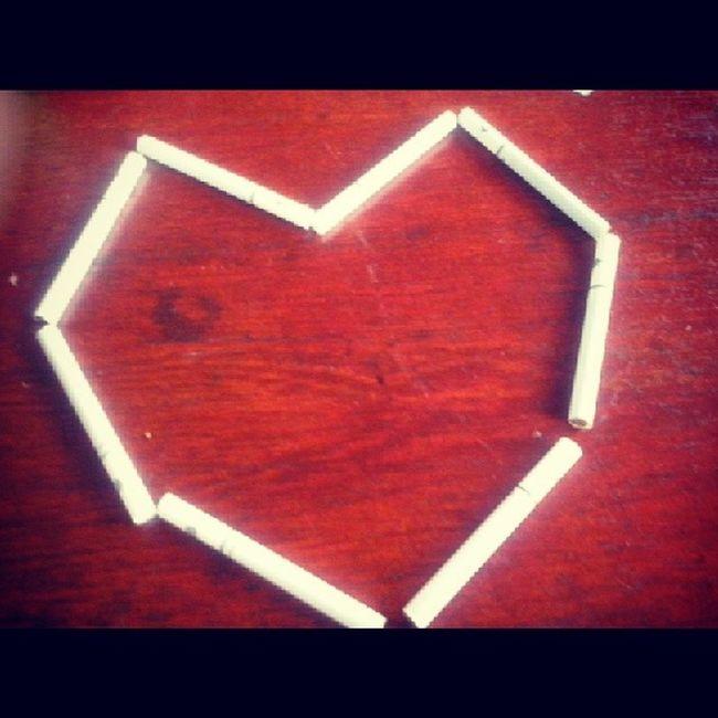 Cigaretts Smoke Heart Criative