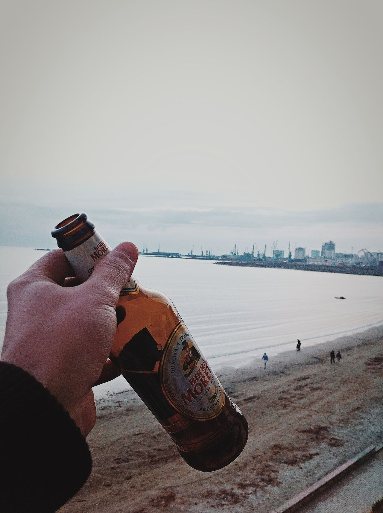 The Places I've Been Today Cheers Beer Good Times Beach House Port Durres Albania Sea EyeEm Nature Lover