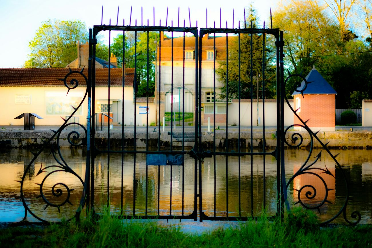 Riverside France Gate Village Saint Mammės Architectural Detail