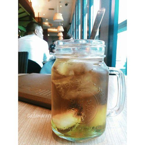Lycheeicetea Billiechickcafe Pondokindahmall VSCO Vscogram Like4like Tagsforlikes Drink Icetea