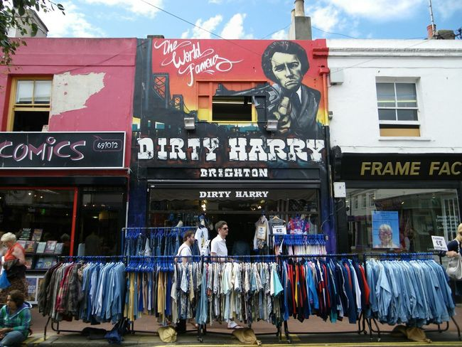 England Brighton Vscocam VSCO Streetart Sreetphotography Walking Around Shopping Dirty Harry