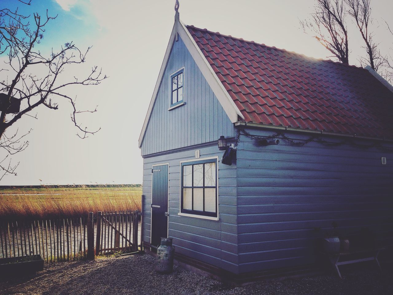 Amsterdam Country Cottage Amsterdam House Netherlands Holland Blue Cute Sun Goodweather Original Experiences Hidden Gems  Colour Of Life The Great Outdoors - 2017 EyeEm Awards